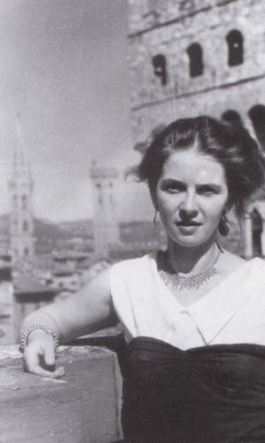 Anna Dębska (Florencja, fot. archiwum Anny Dębskiej)