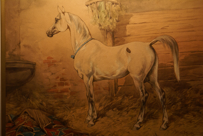 Bagdad, by Juliusz Kossak, 1890. The painting is a private property. Photo by Krzysztof Dużyński