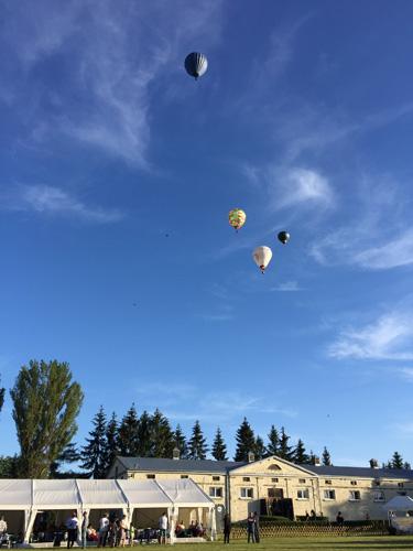Baloons over Białka, by Monika Luft