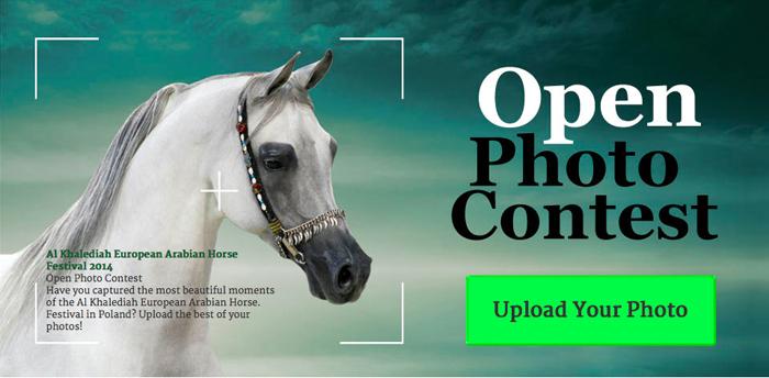 Otwarty konkurs fotograficzny dla widzów i uczestników Al Khalediah European Arabian Horse Festival!