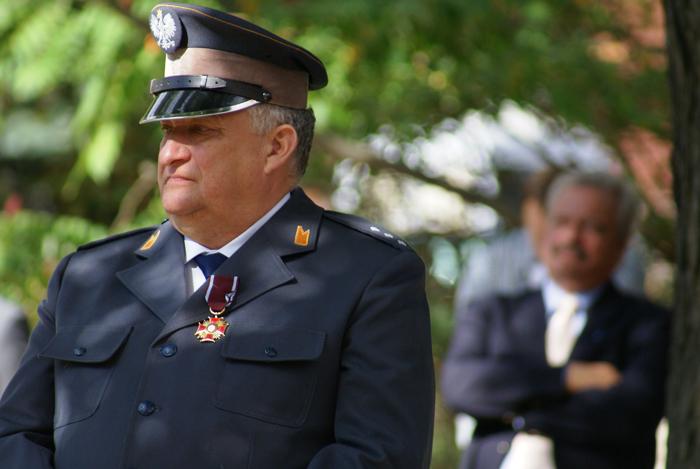 Director Jerzy Białobok, by Krzysztof Dużyński