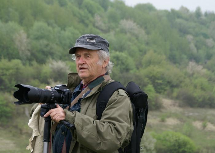 Fotograf Tadeusz Budzyński, fot. Krzysztof Dużyński