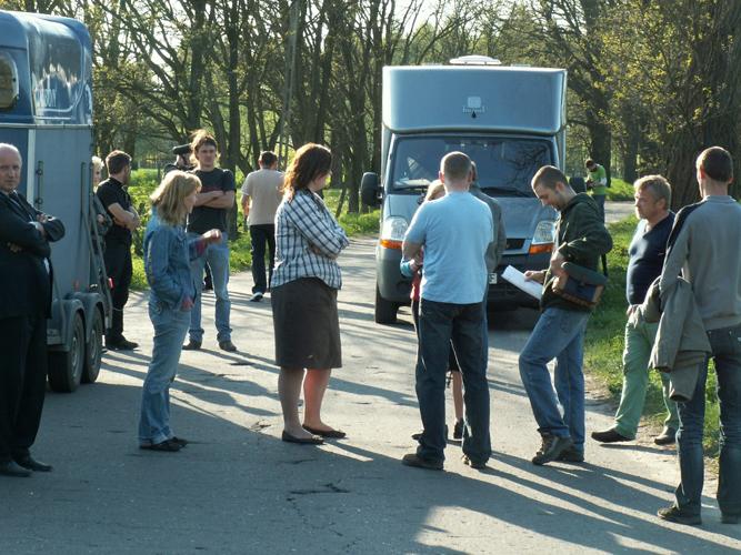 W sobotę po południu konie rozpoczęto wywozić z gospodarstwa. Fot. PdZ/VIVA