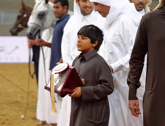 Szejk Hamad Bin Al Al Thani o ECAHO dla polskicharabów.com. Relacja z III katarskiego pokazu koni prywatnej własności