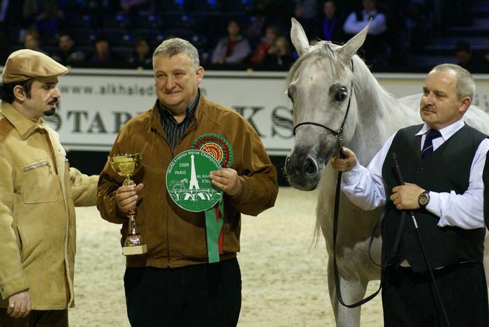 Emandoria - Bronze Medal of the World Championship, with director Jerzy Białobok and handler Mariusz Liśkiewicz. By Krzysztof Dużyński