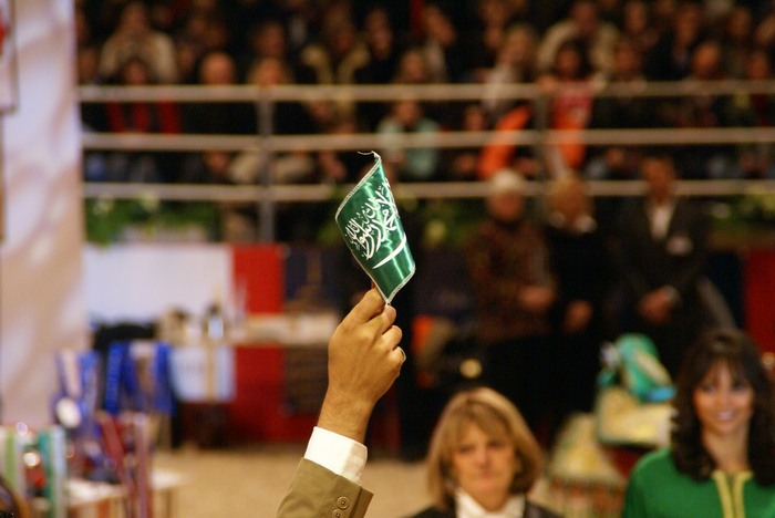 Saudi flag, by Krzysztof Dużyński