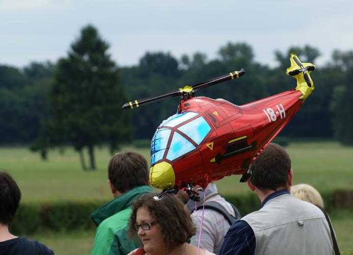 Partynicki helikopter, fot. Krzysztof Dużyński