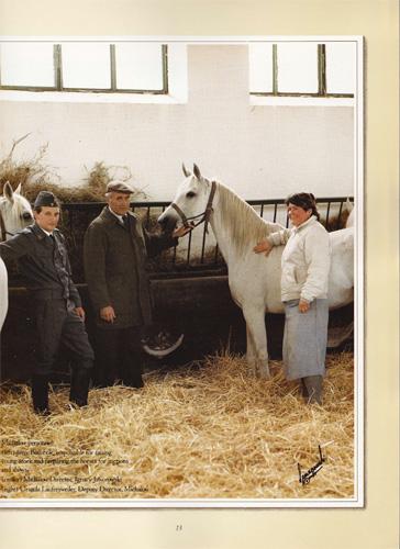 Dyr. Ignacy Jaworowski oraz Urszula i Jerzy Białobokowie. Zdjęcie z katalogu aukcji Polish Ovation w USA (1985)