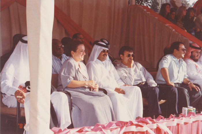Jordania, lata 90. Fot. z archiwum Szejka Hamada Bin Ali Al Thani