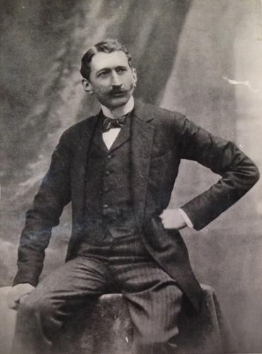 Count Józef Potocki of Antoniny (1862-1922). Photo from Mr. Marek Potocki's collection