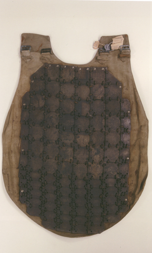An armored vest. Source: The French Army, L. Mirouze, S. Dekerle, edited by Verlag Militaria 2008