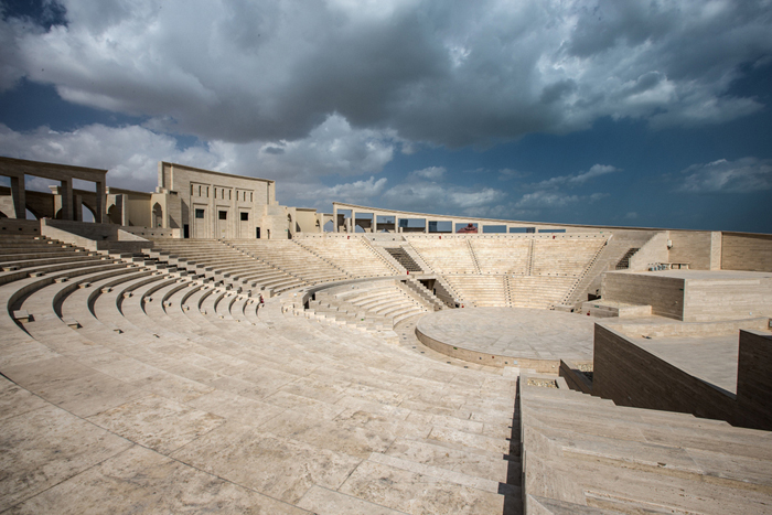 The amphitheater in Katara Village, QREC photo