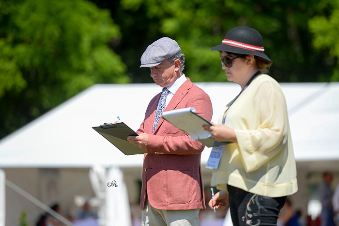 The judges Koenraad Detailleur and Pilar Cavero, by Ewa Imielska-Hebda