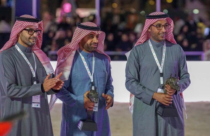 The Organizing Committee: Sh. Khaled Al Gahtani, Abdul Aziz Bukanan and Hamad Bin Awad Bin Quraya, by Monika Luft