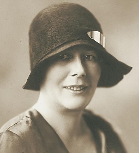 Zofia Kossak-Szczucka, zdjęcie ze zbiorów muzeum pisarki w Górkach Wielkich