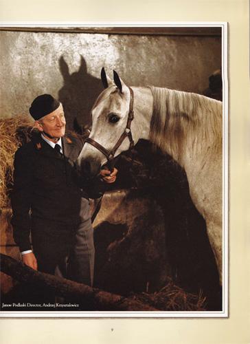 Dyr. Andrzej Krzyształowicz. Zdjęcie z katalogu aukcji Polish Ovation (USA, 1985)