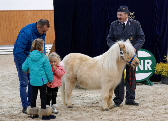 One of the ponies and his new little owners, by Krzysztof Dużyński