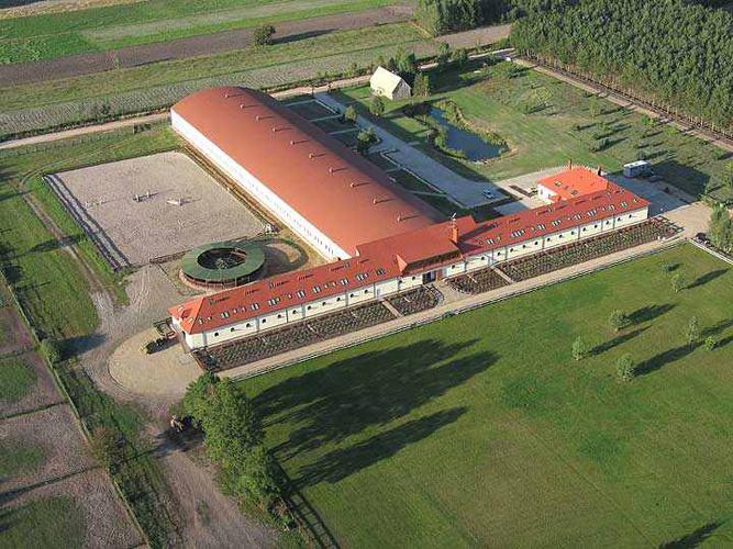 Widok ośrodka w Kuźni. Fot. archiwum