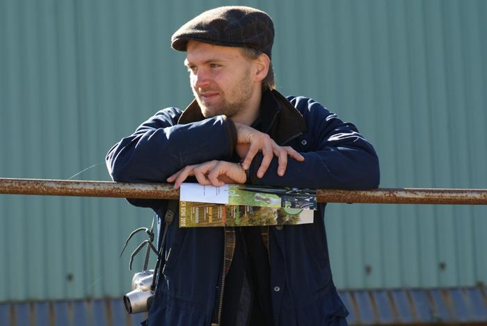 Maciej Kacprzyk, autor tekstu. Fot. Krzysztof Dużyński