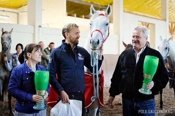 Sabha z Maciejem Kacprzykiem, Beatą Dzikowską i dr. Markiem Trelą, fot. Pola Gałczyńska