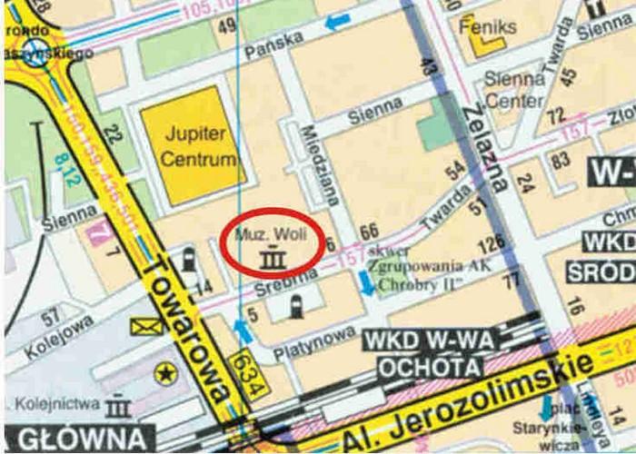 Bomba w górę – na warszawskiej Woli