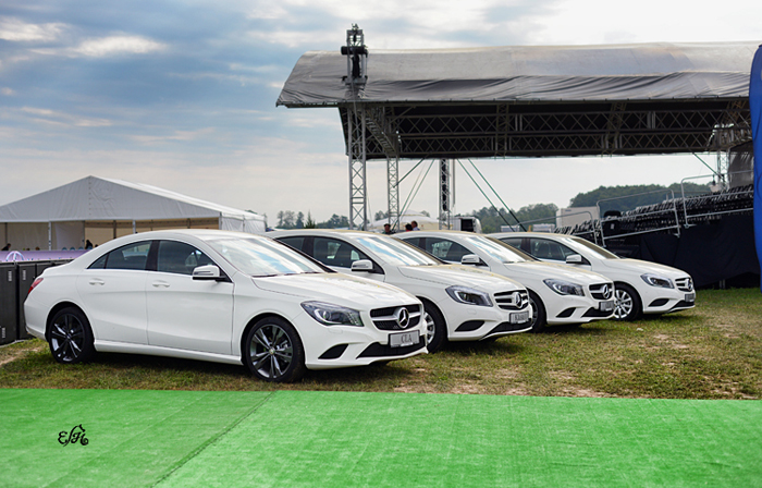The main prizes: two mercedes A-class and two mercedes CLA-class. By Ewa Imielska-Hebda