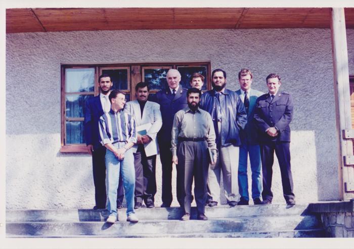 Michałów 1994. Fot. z archiwum Szejka Hamada Bin Ali Al Thani