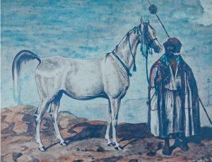 Mlecha, painted by Juliusz Kossak (1845). Property of Janów Podlaski State Stud. Photo by Krzysztof Dużyński