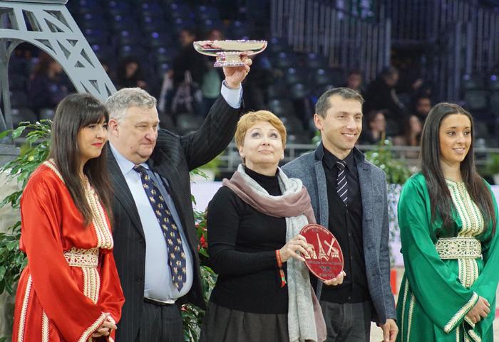 Nagroda dla Najlepszego Hodowcy dla SK Michałów, fot. Krzysztof Dużyński