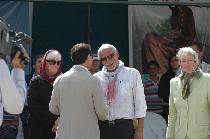 Dr. Nasr Marei judging the Iranian Nationals. Archive photo
