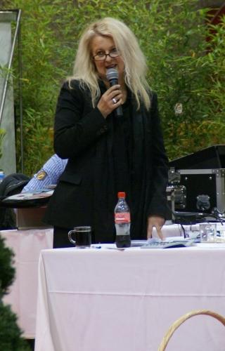 Organizatorka pokazu, p. Christine Jamar. Fot. Krzysztof Dużyński