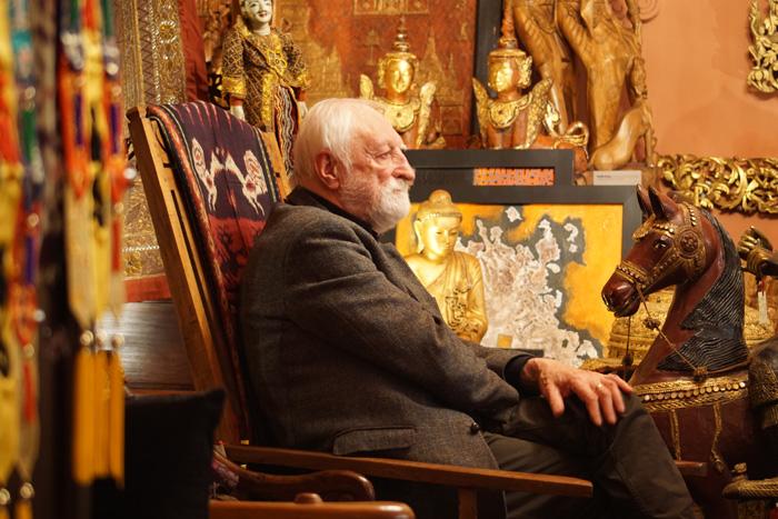 Professor Andrzej Strumiłło, Ex Oriente Gallery, Warsaw 2015. By Krzysztof Dużyński