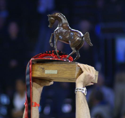 Paryskie trofeum, fot. Krzysztof Dużyński