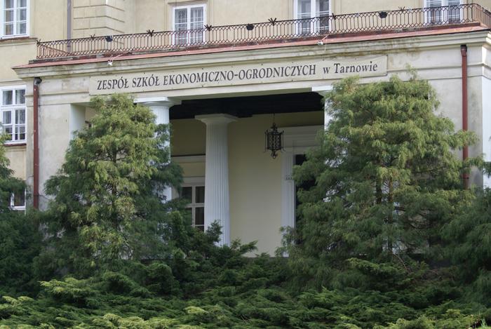 Wejście do pałacu Sanguszków dzisiaj. Fot. Krzysztof Dużyński