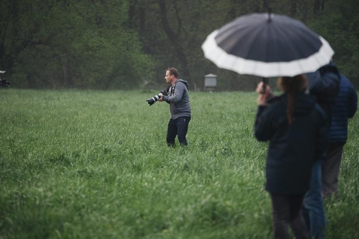 During the photo session at Michałów Stud, by Tomasz Ozdoba