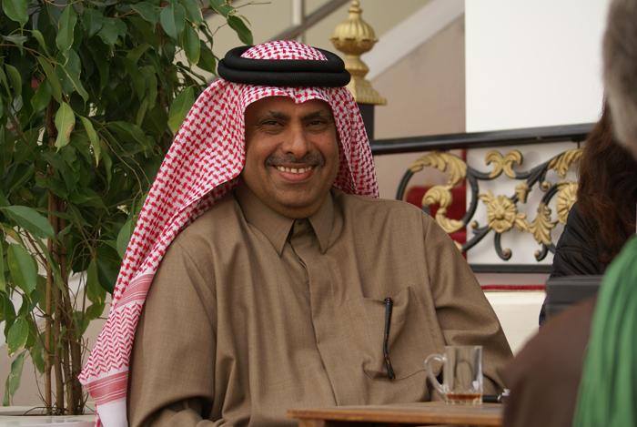 Szejk Hamad Bin Ali Al Thani podczas 5. Qatar Int. Arabian Horse Show, Straight Egyptians. Fot. Monika Luft