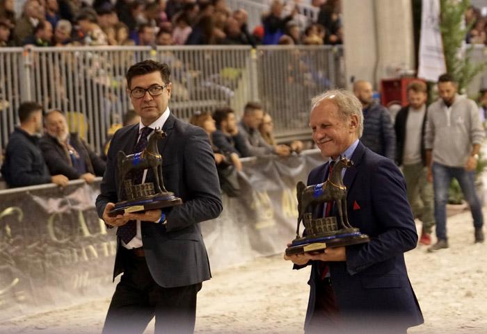President of Michałów Stud Maciej Grzechnik (on the left) and President of Janów Podlaski Stud Sławomir Pietrzak, by Monika Luft