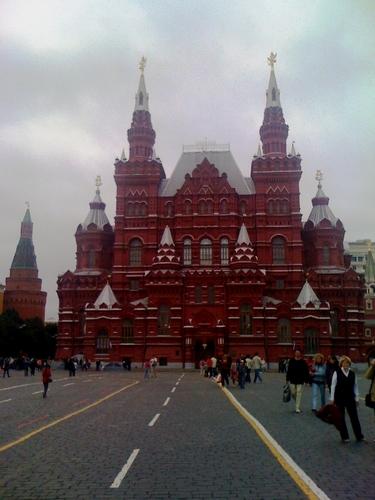 Plac Czerwony, fot. Urszula Łęczycka