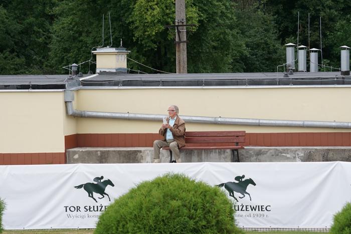 Wierny kibic. Fot. Krzysztof Dużyński