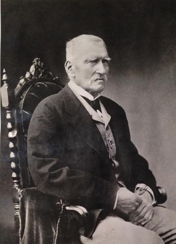 Książę Roman Sanguszko Sybirak (1800-1881) ze Sławuty. Zdjęcie ze zbiorów Marka Potockiego