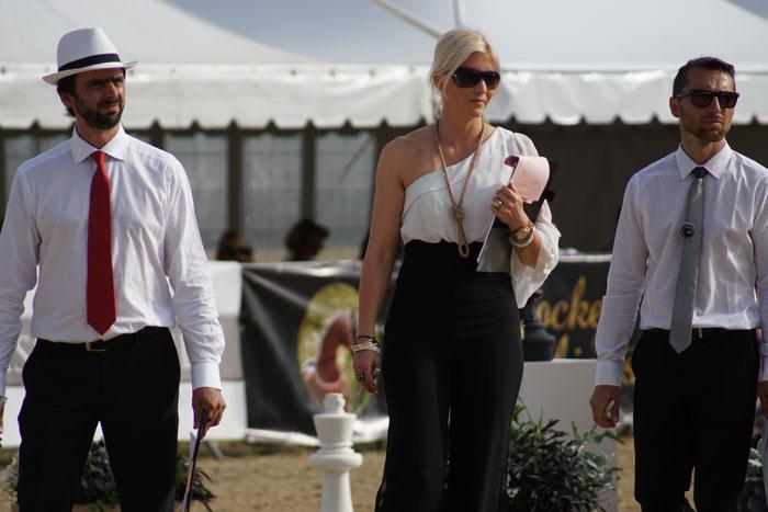 Sędziowie w czerni i bieli: Christian Moschini, Claudia Darius i Jaroslav Lacina, fot. Monika Luft
