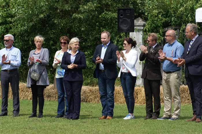Sędziowie i osoby oficjalne, fot. Krzysztof Dużyński