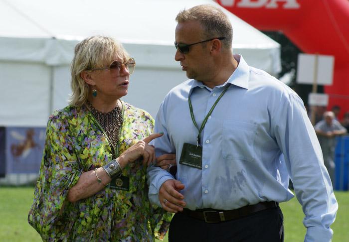 Mrs. Shirley Watts and Scott Benjamin, by Krzysztof Dużyński