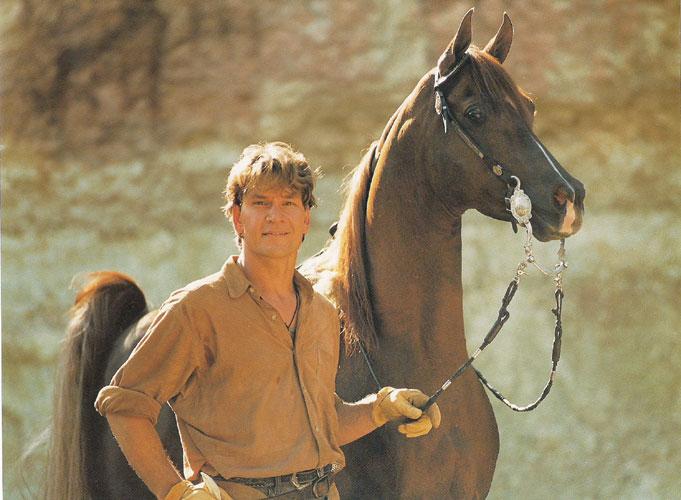Patrick Swayze i Tammen. Fot. Rik van Lent