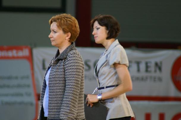 One of the judges was Anna Stojanowska accompanied by prob. judge Urszula Łęczycka. By Krzysztof Dużyński