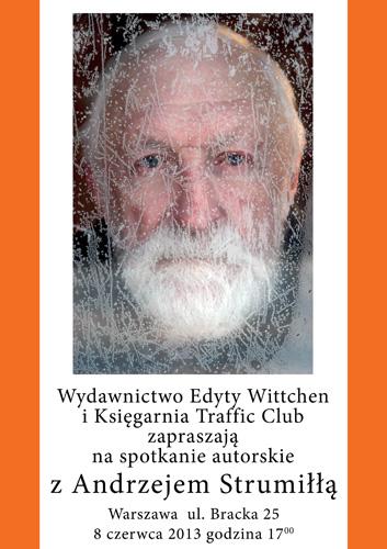 Prof. Andrzej Strumiłło - spotkanie autorskie