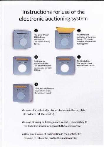 Instrukcja obsługi systemu do licytowania