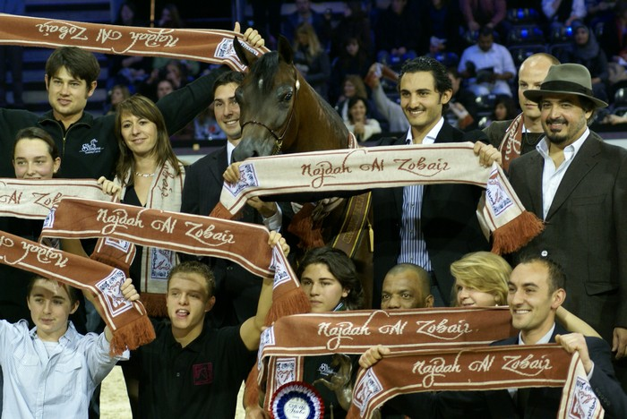 The scarf- wearing fans of Najdah Al Zobair by Krzysztof Dużyński