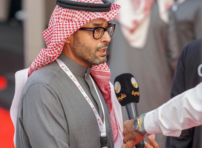 The President of the Organizing Committee, Sh. Khaled Al Gahtani, by Monika Luft