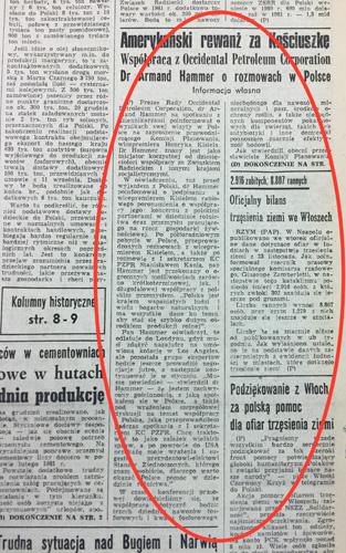 Życie Warszawy daily (edition from 17.12.1980)